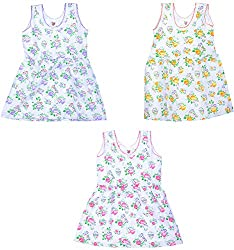 Amy Girls' Dress (S31_E_4-5 Years, 4-5 Years) - Special Offer with Free Shipping - 100% Cotton Exclusive Kidswear