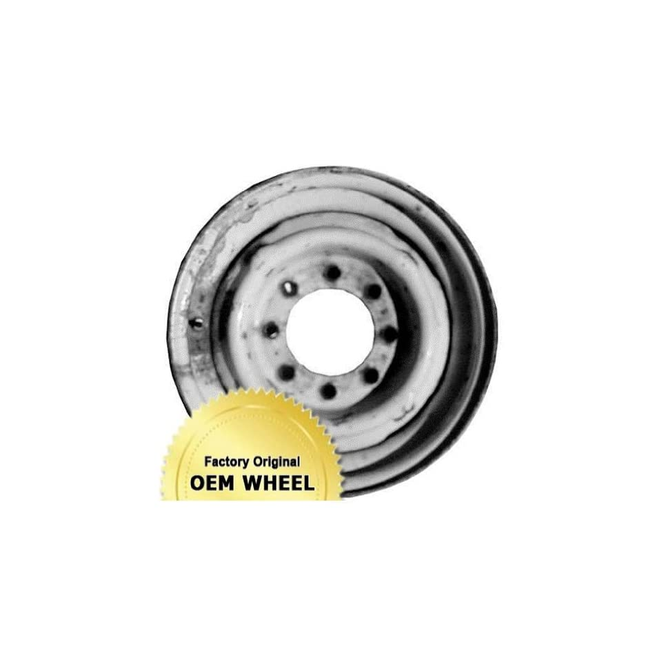 DODGE VAN 16X6 8 HOLE Factory Oem Wheel Rim  STEEL WHITE   Remanufactured