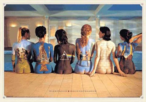 Empire 377890 Pink Floyd - Back Catalogue Nackte Frauen Musik - 3D Poster, Lenticular