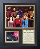 "Legends Never Die ""Star Trek: Next Generation Crew"" Framed Photo Collage, 11 x 14-Inch"