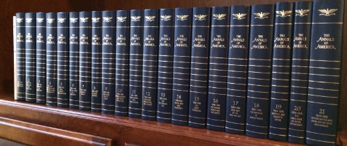 The Annals of America (Encyclopedia Brittanica, Vols 1-21 plus Introduction book)