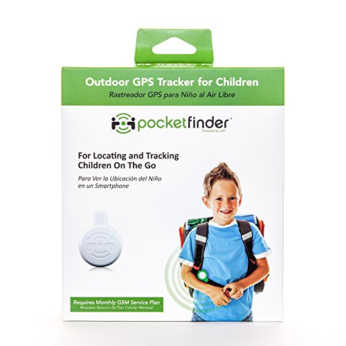 PocketFinder GPS Child Tracker for Locating and Monitoring Children