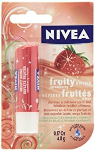NIVEA Lip Care Fruity Shine Strawberry 4.8g