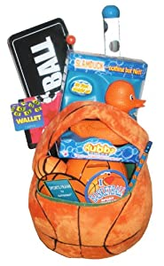 Basketball Lover's Gift Basket - Perfect for Easter, Birthdays, Christmas, or Other Occasion