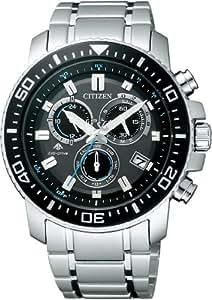 [シチズン]CITIZEN 腕時計 PROMASTER プロマスター Eco-Drive エコ・ドライブ 電波時計 クロノグラフ PMP56-3052 メンズ