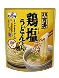 ヤマキ 鶏塩つけうどんつゆ (つゆ40g×2袋、すりごま1g×2袋)×8個
