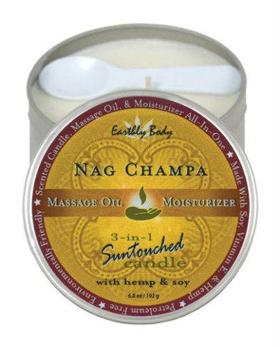 Suntouched Hemp Candle - 6.8 Oz Round Tin Nag Champa