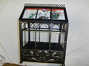 Better homes and gardens decorative iron mini for Bhg greenhouse