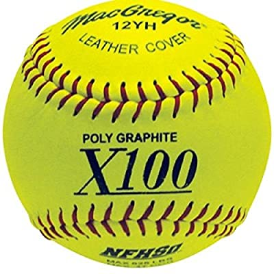 MacGregor NFHS 12 in. Fastpitch Softballs - Pack of 12