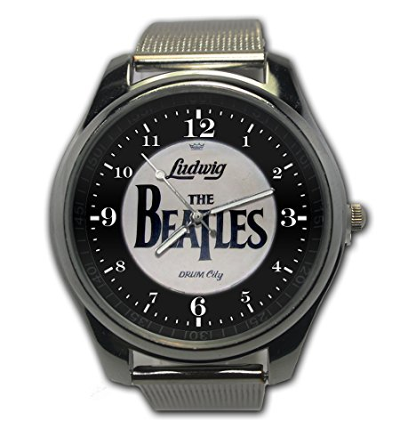 The Beatles Fans Collection Snap On Watch Stainless Steel