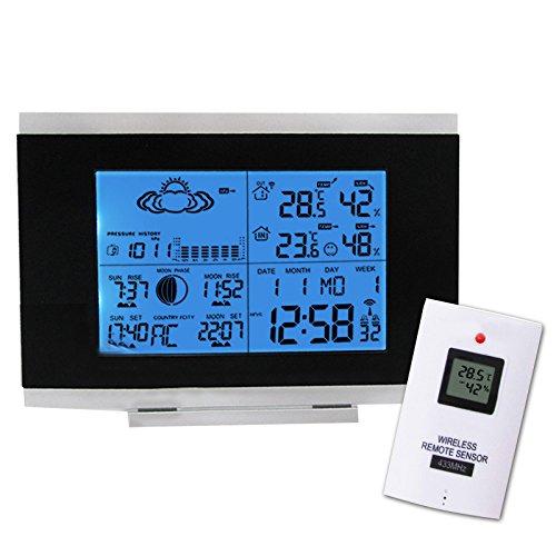 Digitale-kabellose-Wetterstation-Thermometer-fr-Innen-und-Auenbereich