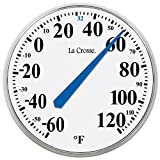 LaCrosse 104-114 Round Thermometer, 14