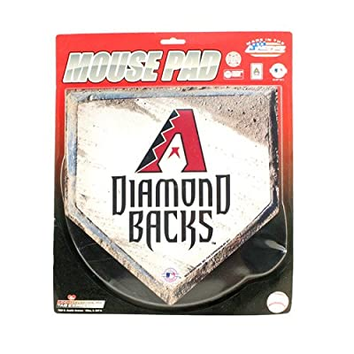 MLB -Big Home Plate Style Computer Mouse Pad