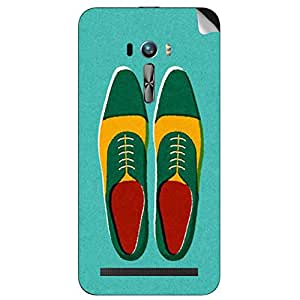 Theskinmantra Shoes Oxford Asus zenfone selfie mobile skin