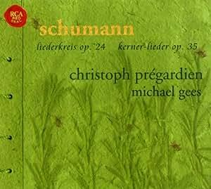 Liederkreis op. 24 / 12 Gedichte op. 35 / Belsazar op. 57 / 3 Lieder op.127 / Gesänge op. 142