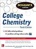 img - for Schaum's Outline of College Chemistry: 1,340 Solved Problems + 23 Videos (Schaum's Outlines) 10th edition by Rosenberg, Jerome, Epstein, Lawrence, Krieger, Peter (2013) Paperback book / textbook / text book
