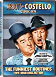 Cover art for  Abbott & Costello: The Funniest Routines Collection 2-Disc Set