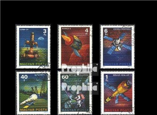 Ungarn 3214A-3219A (kompl.Ausg.) gestempelt 1977 Raumforschung (Briefmarken für Sammler)