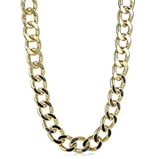 Fairhaven Curb Chain Necklace<br>Black