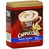 Hills Bros French Vanilla Cappuccino Drink Mix 1LB 3-pack