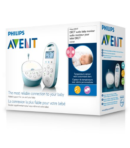 philips avent dect baby monitor with temperature sensor. Black Bedroom Furniture Sets. Home Design Ideas