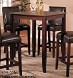 Bar Table - Contemporary Style Cherry Finish