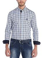SIR RAYMOND TAILOR Camisa Hombre (Azul)