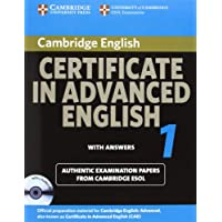 Cambridge Certificate in Advanced English 1 for updated exam Self-study Pack: Official Examination papers from...