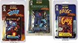 Sentinels of the Multiverse : GUISE, WAGER MASTER, & OMNITRON IV Bundle of 3 Expansions by Greater than Games