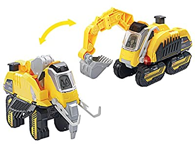 Digger The Woolly Mammoth Switch and Go Dinos Turbo