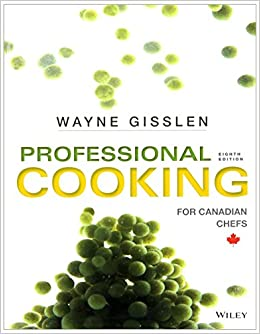 professional cooking wayne gisslen 8th edition free download