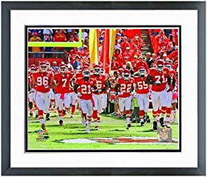 Kansas City Chiefs Team Introduction Photo (Size: 12.5 x 15.5) Framed by NFL