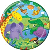 Creative Party Jungle Buddies Paper Plates