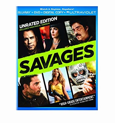 Savages - Unrated Edition (Blu-ray + DVD + Digital Copy + UltraViolet)