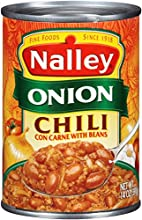 Nalley Chili Onion with Beans 14 Ounce Pack of 24