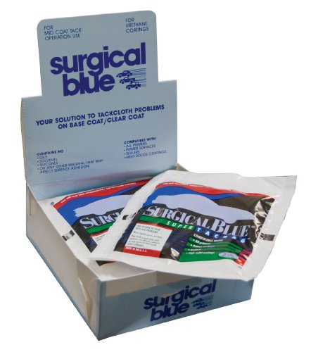 Surgical Blue Premium Tack Rags - 12 Pack (Made in USA)