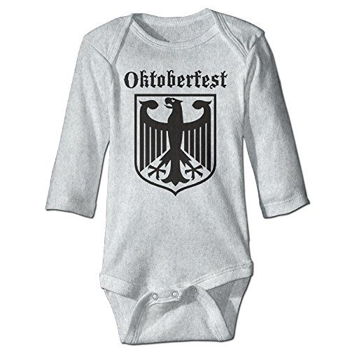 [Oktoberfest German Armes Cute Boy And Girl Baby Romper Jumpsuit Ash] (Oktoberfest Costumes Party City)
