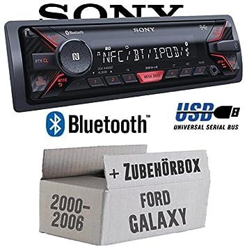 Ford Galaxy 1 - Sony DSX-A400BT - Bluetooth MP3/USB Autoradio - Einbauset
