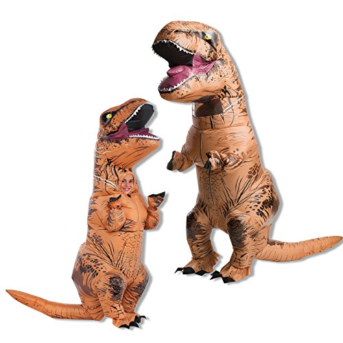 Jurassic World Adult and Child T-Rex Costume Bundle