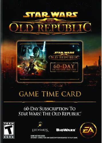 Star Wars: The Old Republic 60-Day Pre-paid Time