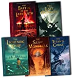 Percy Jackson and the Olympians Collection Rick Riordan 5 Books Set Pack RRP: £39.95 (The Percy Jackson and the Olympians, Last Olympian, The Battle of the Labyrinth, The Titans Curse, The Sea of Monsters, The Lightning Thief) Rick Riordan