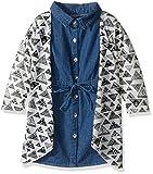 Limited Too Girls 2 Piece Set Denim Dress and Cardigan