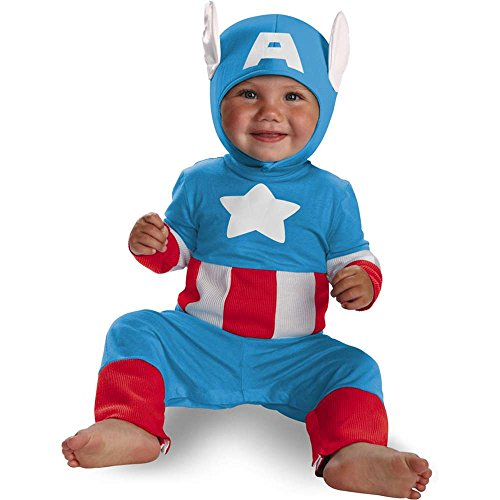 Captain America Cutie Infant Costume - 12-18 Months