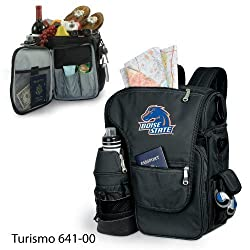 Boise State Broncos Turismo Insulated Day-Trip Backpack with Bottle - Black w/Digital Print