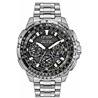Citizen Promaster Navihawk Black Dial Men's Chronograph Watch (CC9030-51E)