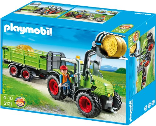 PLAYMOBIL 5121 - Riesen-Traktor mit Anh&#228;nger
