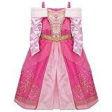 Disney Sleeping Beauty Aurora Costume For Girls Dress Up (XXS 2-3 Extra Extra Small)