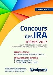 Concours des IRA, thèmes 2017