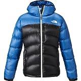 THE NORTH FACE(ノースフェイス) 高品質 ダウンジャケット Aconcagua Hoodie フーディ アウター メンズ Mサイズ ボンバーブルー×ブラック aconcaguahoodie-M-ND91314-BO