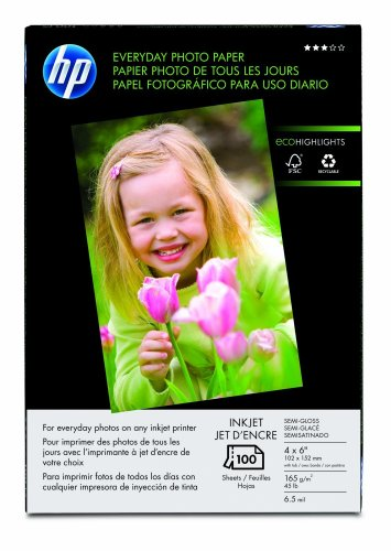 HP Everyday 4×6  Photo Paper 100 Sheets (Q5440A)